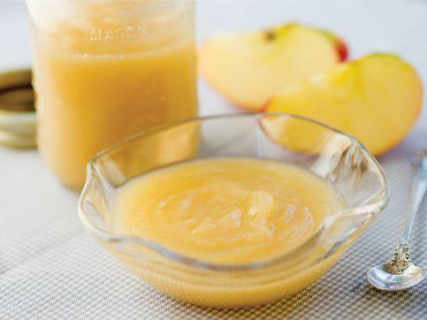 baby fruit sauce